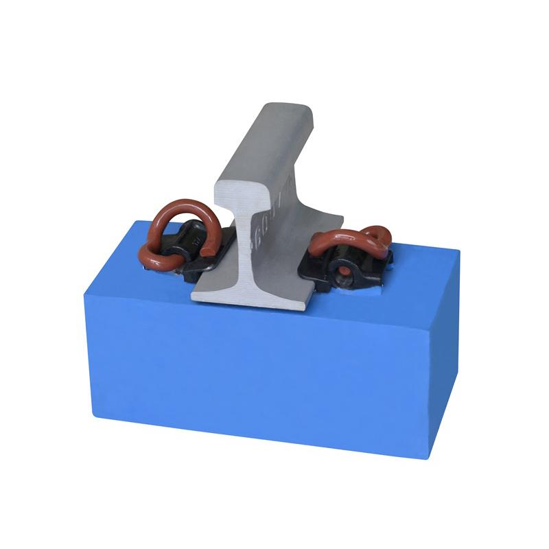 High-speed rail IV fasteners