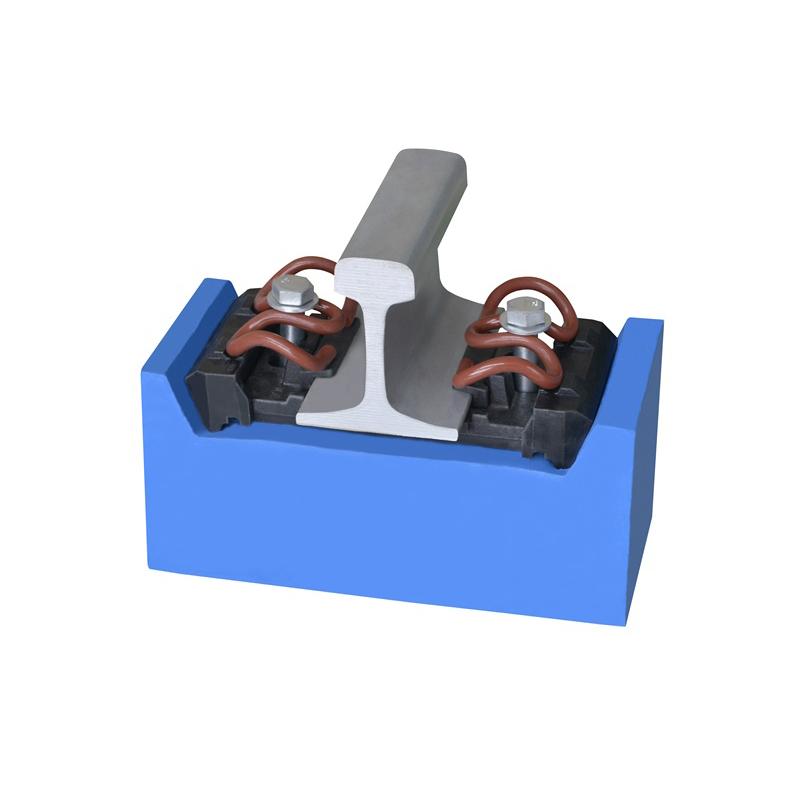 High-speed rail WJ-8 type fastener